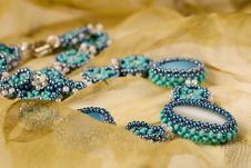 Free Ornament From Beads Stock Photos - 21260413