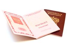 Free Two Passports Royalty Free Stock Photo - 21260475