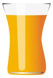 Free Glass Of Orange Juice Stock Photography - 21260782