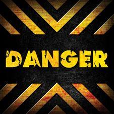 Free Danger Background Royalty Free Stock Photo - 21261435