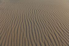 Free Detail Of Lines In Sand Dune Royalty Free Stock Photos - 21261488