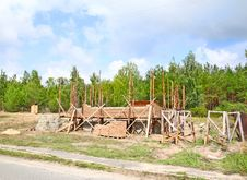 Free Building  Of House On A New Area Royalty Free Stock Image - 21261586