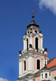 Free Fragment Of Catholic Church In Baroque Style. Royalty Free Stock Photography - 21262587