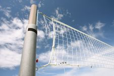 Free Volleyball Net Royalty Free Stock Photo - 21262715