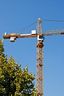 Free Crane Royalty Free Stock Photography - 21262927