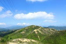Free Mountain Landscape In Hong Kong Stock Photos - 21262933