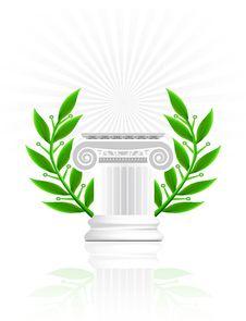 Free Classic Column Royalty Free Stock Photos - 21263078
