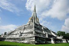 Free Phu Khoa Thong Pagoda, Ayutthaya Stock Photography - 21263942