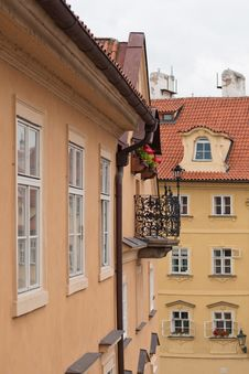 Free View Of The Prague Roofs Stock Photos - 21264123