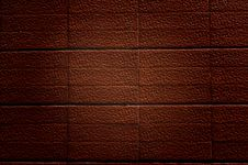 Abstract Generated Brick Wall Stock Image