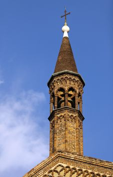 Bell Tower Of Piacenza Royalty Free Stock Images