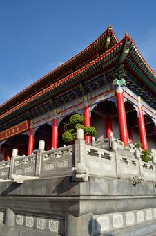 Free Lengnoeiyi Chinese Temple Royalty Free Stock Photography - 21264617