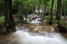 Free Stream Rainforest Waterfall Stock Image - 21265201