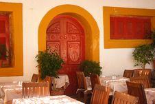 Free Restaurant Interior Stock Photography - 21265492
