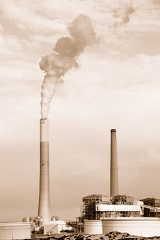 Free Power Station Royalty Free Stock Image - 21265606