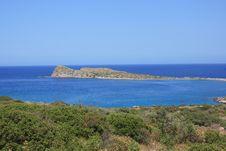 Free Kolokytha Bay And Island Royalty Free Stock Image - 21265696