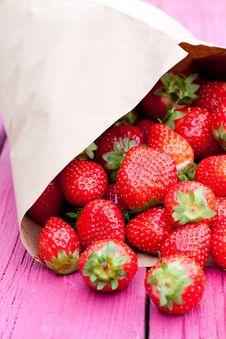 Free Strawberry Royalty Free Stock Photo - 21266805