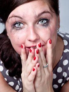 Free Sad Girl Stock Photography - 21267302