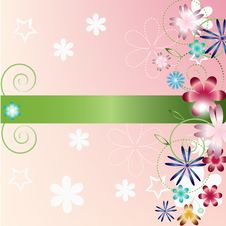 Free Flower Spring Background Royalty Free Stock Photography - 21267777