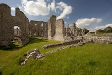 Free Castle Acre Priory Ruins Royalty Free Stock Photography - 21268057