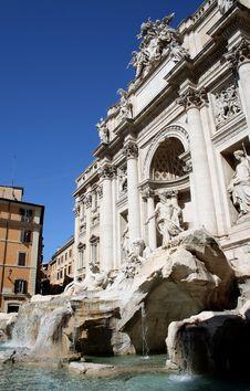 Free Trevi Fountain, Rome, Italy Stock Photos - 21268543