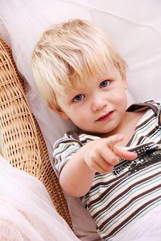 Free Blonde Boy Royalty Free Stock Photos - 21268658