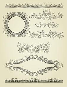 Free Set Of Design Elements. Stock Image - 21269121
