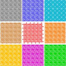 Free Set Of Elegant Retro Seamless Patterns Stock Photos - 21269323