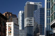 Free Vancouver Downtown Architecture Royalty Free Stock Photography - 21269357