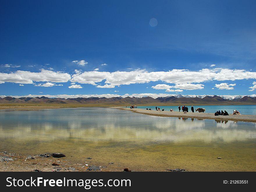 By the namtso lake