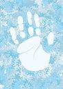 Free Handprint Royalty Free Stock Photography - 21270737