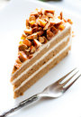 Free Coffee Almond Cake Royalty Free Stock Images - 21270769