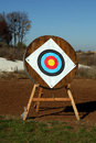 Free Archery Shooting Target Royalty Free Stock Photos - 21272368
