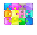 Free Colorful Puzzles Royalty Free Stock Photos - 21275278