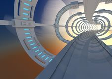 Free Abstract Tunnel Stock Images - 21270254