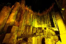 Free Night Time At Amazing Stone Of Columnar,Phrae Stock Image - 21270841