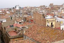 Free Tarragonas Roofs Royalty Free Stock Photos - 21271568