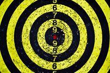 Free Dart Board And Many Holes Stock Photos - 21271813