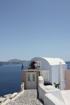 Free Oia Santorini Stock Images - 21272264