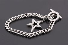 Free Silver Bracelet Stock Photo - 21272410