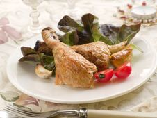 Free Chicken Legs Royalty Free Stock Image - 21272696