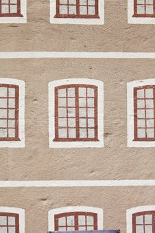 Free Painted Windows Royalty Free Stock Images - 21272789
