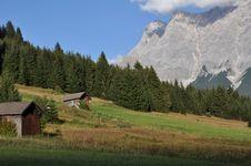 Zugspitze, Tyrol, Austria Royalty Free Stock Photo