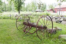 Vintage Farm Equipment Royalty Free Stock Photos