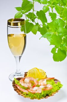 Free Shrimp Salad Stock Images - 21274214