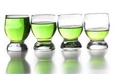 Free Tequila Cups Stock Photography - 21274282