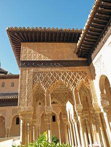 Free Alhambra-Spain Royalty Free Stock Image - 21274526