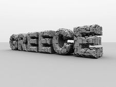 Free Crisis In Greece. Royalty Free Stock Photography - 21274567