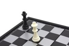 Free Two King On Chess Board Stock Images - 21277844