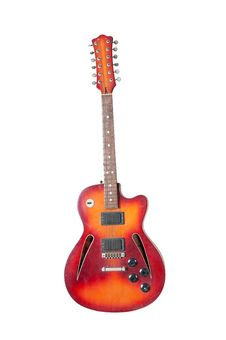 Free Beautiful Antique Electric Guitar Royalty Free Stock Photography - 21277977
